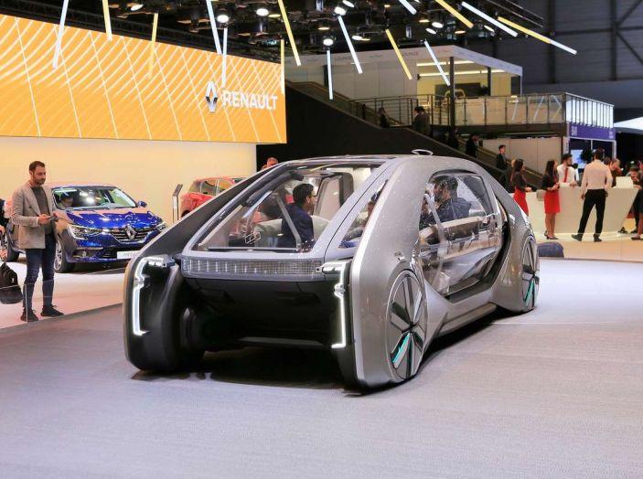 Renault EZ-GO, l'auto condivisa a guida autonoma del futuro - Foto 8 di 10