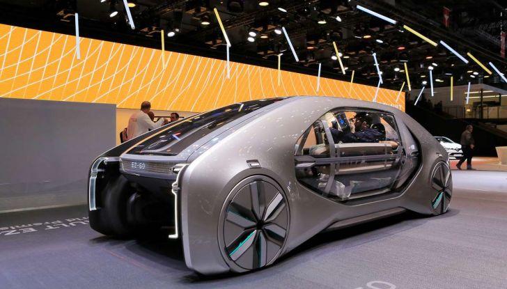 Renault EZ-GO, l'auto condivisa a guida autonoma del futuro - Foto 10 di 10
