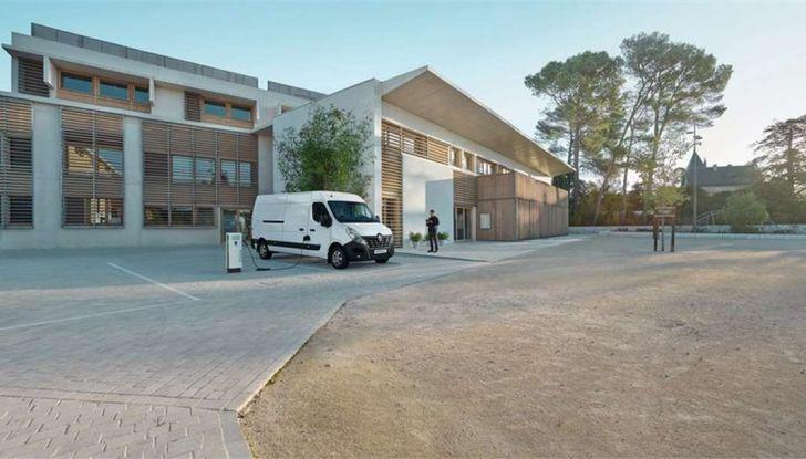 Renault Master Z.E., il commerciale diventa elettrico - Foto 3 di 8