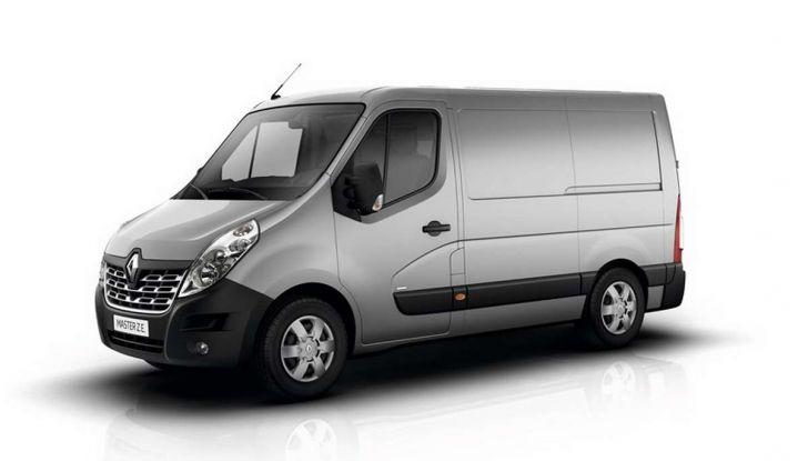 Renault Master Z.E., il commerciale diventa elettrico - Foto 8 di 8