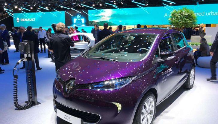 Renault ZOE MY2018 con nuovo motore R110 da 108 CV - Foto 3 di 7