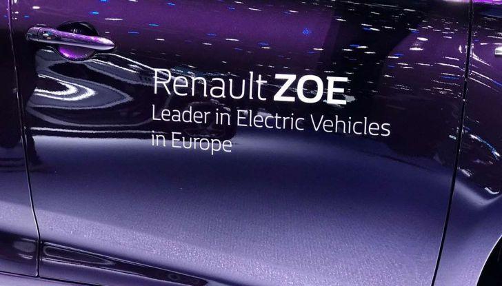 Renault ZOE MY2018 con nuovo motore R110 da 108 CV - Foto 7 di 7