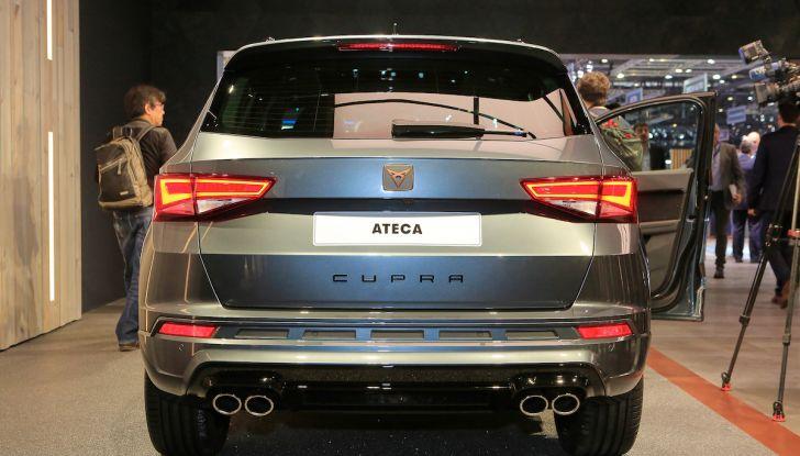 Ateca Cupra 2018, debutto al Salone di Ginevra - Foto 3 di 12