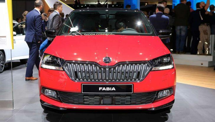 Skoda Fabia Restyling 2018 nuovo design ed equipaggiamenti - Foto 2 di 10