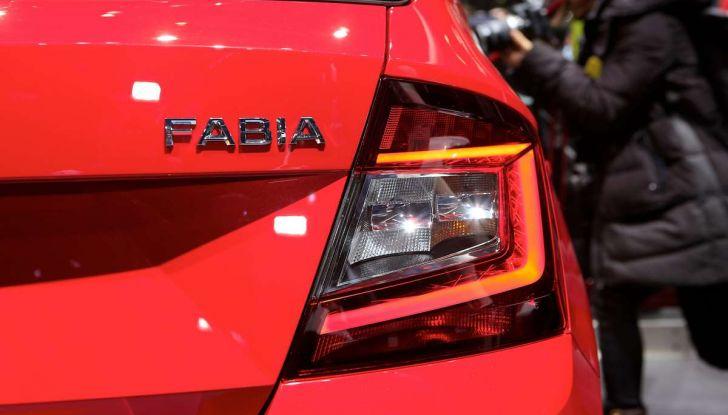 Skoda Fabia Restyling 2018 nuovo design ed equipaggiamenti - Foto 9 di 10