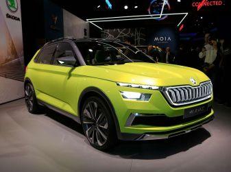 Skoda Vision X Concept al Salone di Ginevra 2018