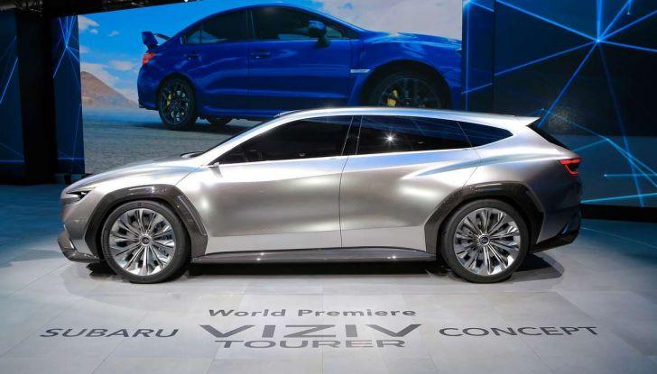 Subaru Viziv Tourer Concept, la nuova due volumi giapponese - Foto 3 di 14