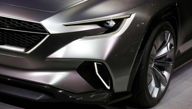 Subaru Viziv Tourer Concept, la nuova due volumi giapponese - Foto 12 di 14
