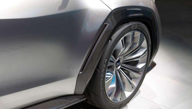 Subaru Viziv Tourer Concept, la nuova due volumi giapponese - Foto 13 di 14