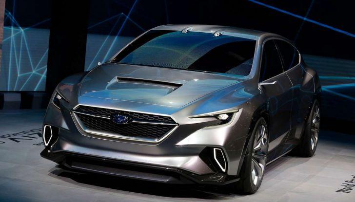 Subaru Viziv Tourer Concept, la nuova due volumi giapponese - Foto 2 di 14