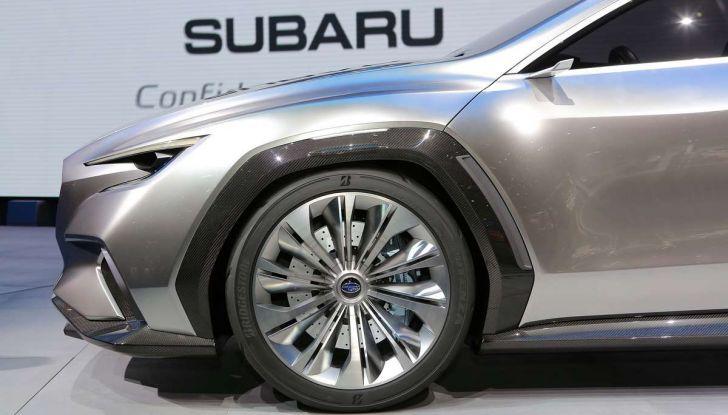 Subaru Viziv Tourer Concept, la nuova due volumi giapponese - Foto 4 di 14