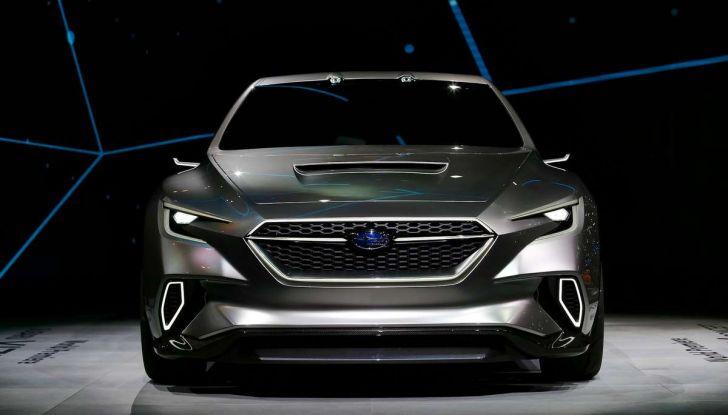 Subaru Viziv Tourer Concept, la nuova due volumi giapponese - Foto 10 di 14