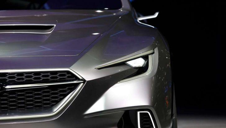 Subaru Viziv Tourer Concept, la nuova due volumi giapponese - Foto 11 di 14