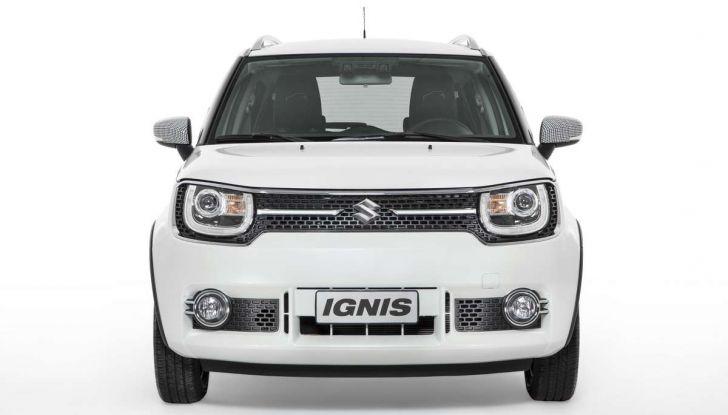 Suzuki Ignis Ginza, versione limitata con prezzi da 18.950 euro - Foto 4 di 11