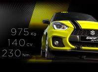 Suzuki Swift Sport BeeRacing, versione sportiva da 18.000 euro