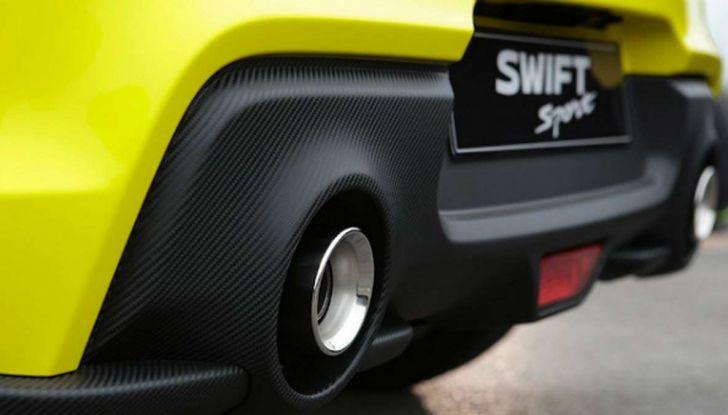 Suzuki Swift Sport BeeRacing, versione sportiva da 18.000 euro - Foto 6 di 8