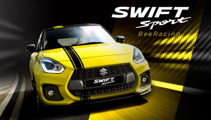 Suzuki Swift Sport BeeRacing, versione sportiva da 18.000 euro - Foto 7 di 8