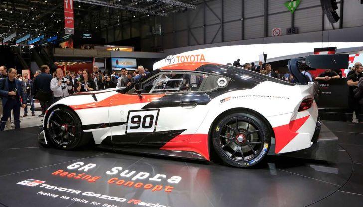 Toyota GR Supra Racing, il ritorno del mito - Foto 5 di 18