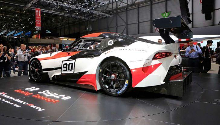 Toyota GR Supra Racing, il ritorno del mito - Foto 7 di 18