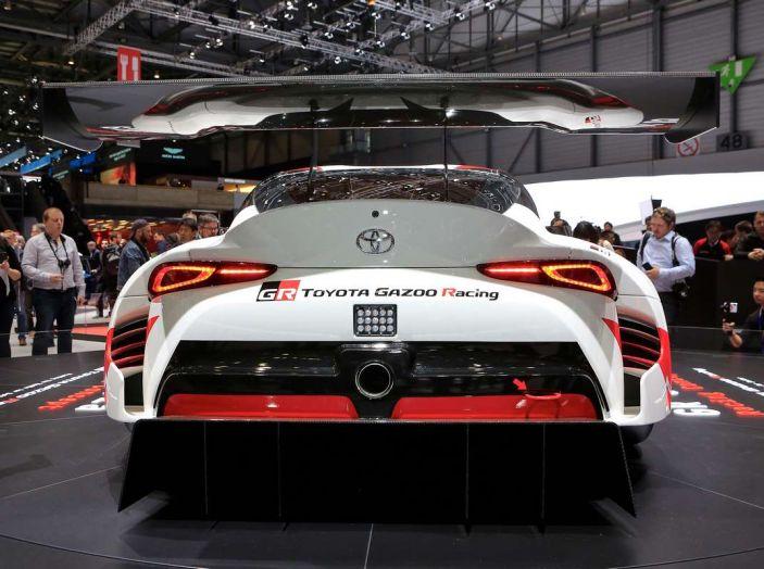 Toyota GR Supra Racing, il ritorno del mito - Foto 9 di 18