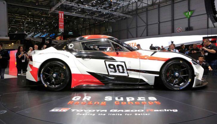 Toyota GR Supra Racing, il ritorno del mito - Foto 12 di 18