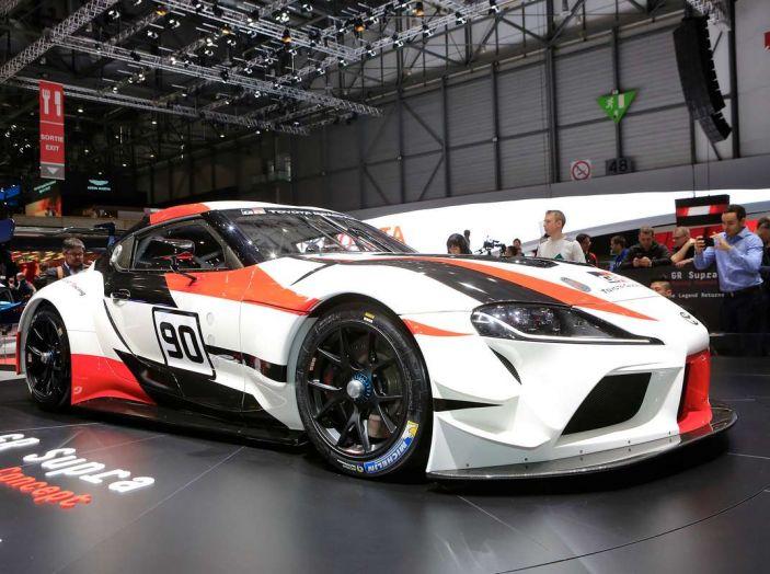 Toyota GR Supra Racing, il ritorno del mito - Foto 13 di 18