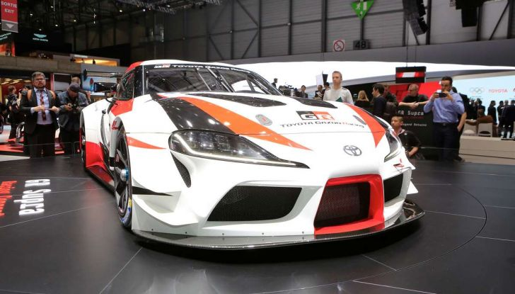 Toyota GR Supra Racing, il ritorno del mito - Foto 15 di 18
