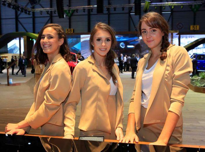 Le ragazze più belle del Salone di Ginevra 2018 - Foto 7 di 22
