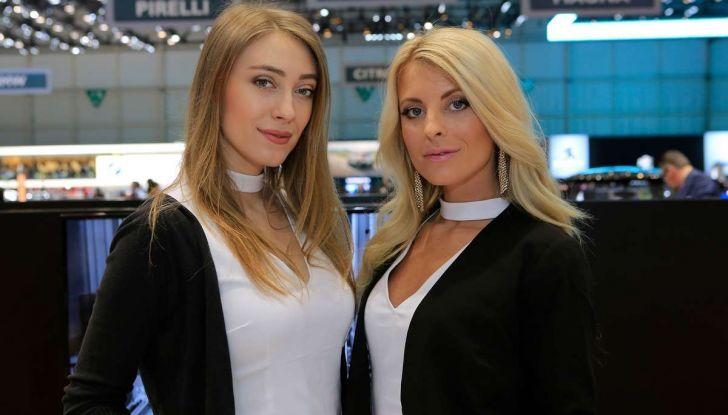 Le ragazze più belle del Salone di Ginevra 2018 - Foto 15 di 22