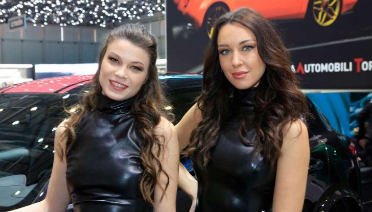 Le ragazze più belle del Salone di Ginevra 2018 - Foto 17 di 22