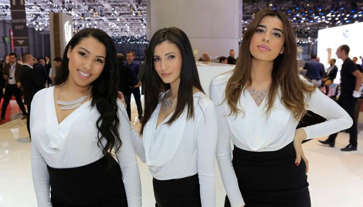 Le ragazze più belle del Salone di Ginevra 2018 - Foto 5 di 22