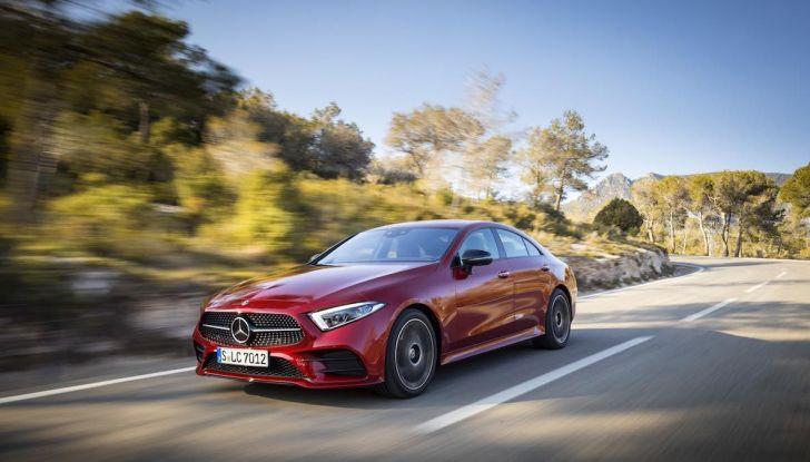 Mercedes CLS 2018, la nostra prova del Diesel 350d da 286CV - Foto 19 di 23
