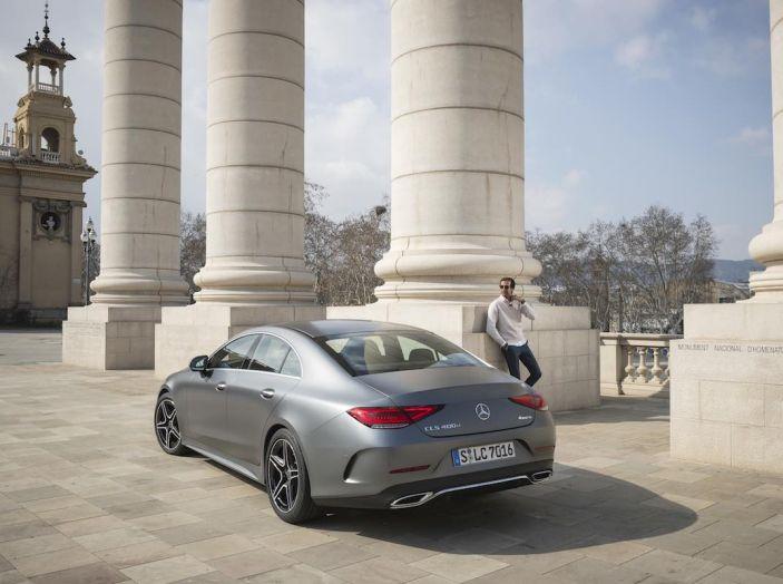 Mercedes CLS 2018, la nostra prova del Diesel 350d da 286CV - Foto 5 di 23