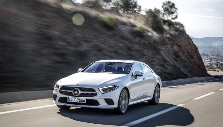 Mercedes CLS 2018, la nostra prova del Diesel 350d da 286CV - Foto 22 di 23