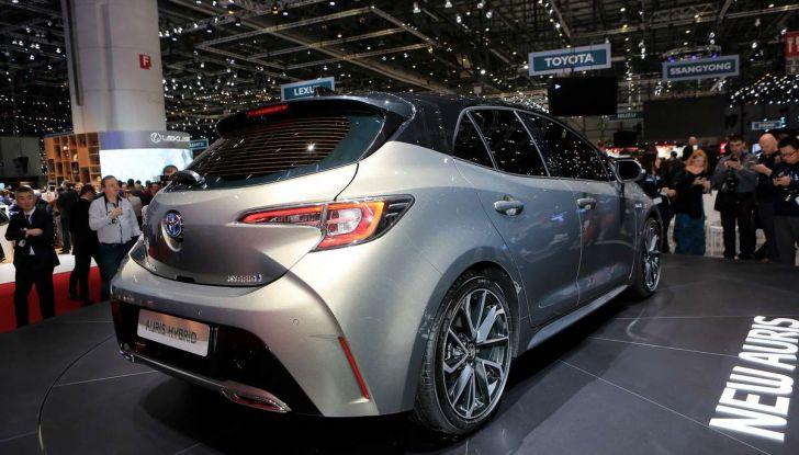 Toyota Corolla 2019: il ritorno di un mito per il segmento C - Foto 14 di 27