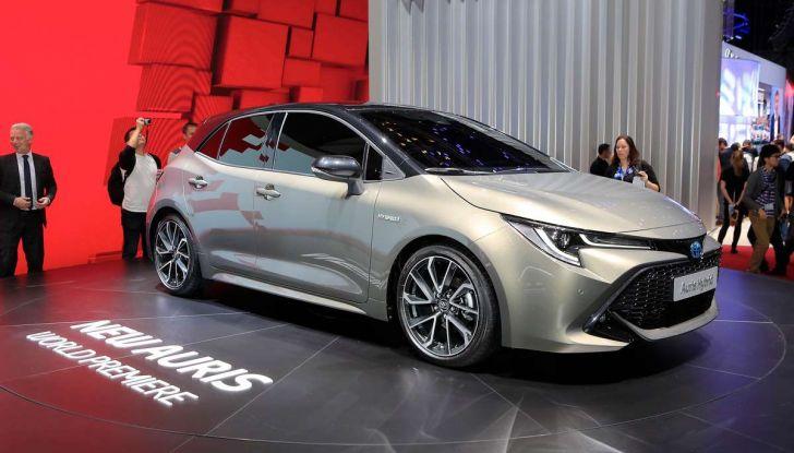 Una Toyota Corolla Full Hybrid per la Presidenza del Consiglio - Foto 13 di 27