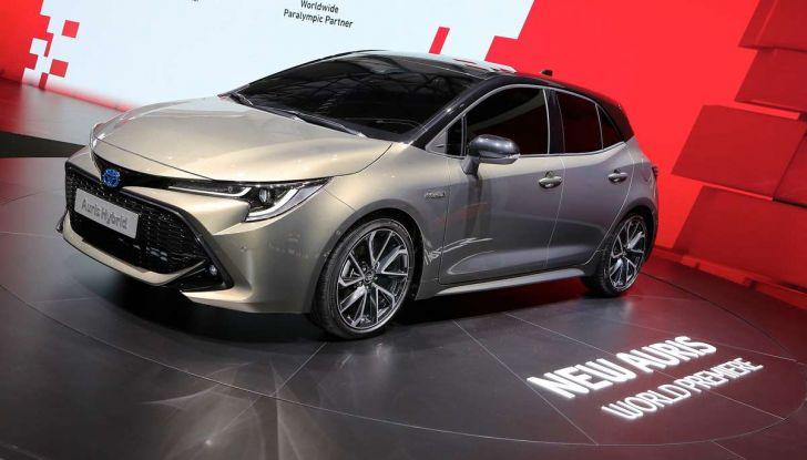 Una Toyota Corolla Full Hybrid per la Presidenza del Consiglio - Foto 20 di 27