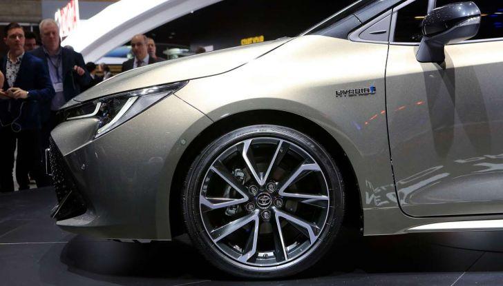Una Toyota Corolla Full Hybrid per la Presidenza del Consiglio - Foto 18 di 27