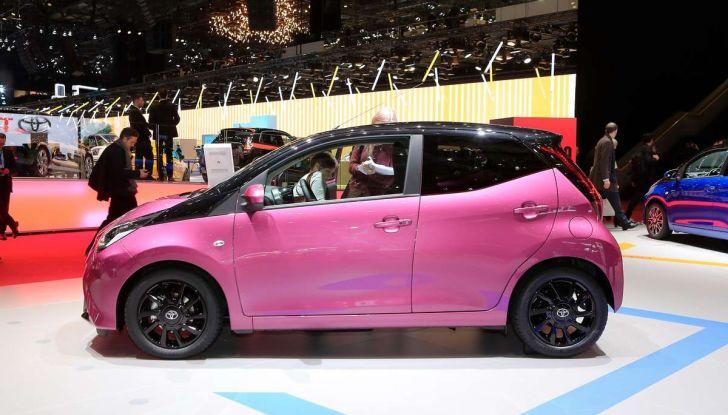 Nuova Toyota Aygo 2018, passi avanti in stile e tecnologia - Foto 2 di 18