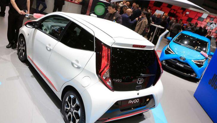 Nuova Toyota Aygo 2018, passi avanti in stile e tecnologia - Foto 11 di 18