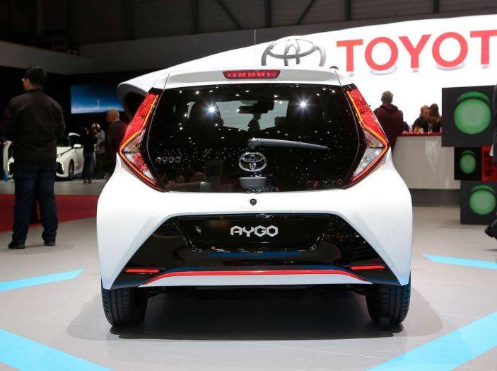 Nuova Toyota Aygo 2018, passi avanti in stile e tecnologia - Foto 12 di 18