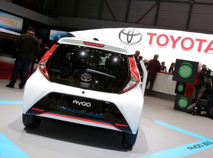 Nuova Toyota Aygo 2018, passi avanti in stile e tecnologia - Foto 13 di 18