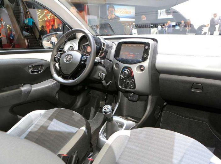 Nuova Toyota Aygo 2018, passi avanti in stile e tecnologia - Foto 14 di 18