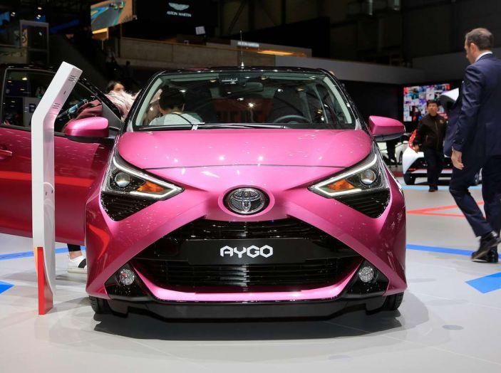 Nuova Toyota Aygo 2018, passi avanti in stile e tecnologia - Foto 15 di 18