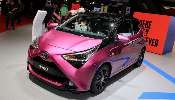 Nuova Toyota Aygo 2018, passi avanti in stile e tecnologia - Foto 1 di 18