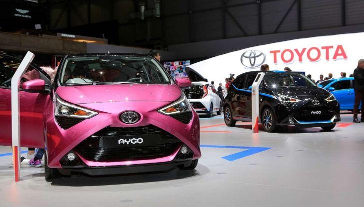 Nuova Toyota Aygo 2018, passi avanti in stile e tecnologia - Foto 16 di 18