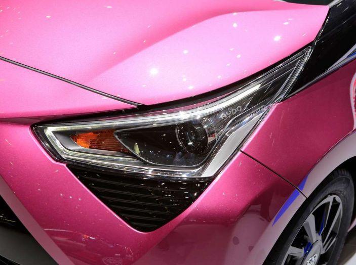 Nuova Toyota Aygo 2018, passi avanti in stile e tecnologia - Foto 17 di 18