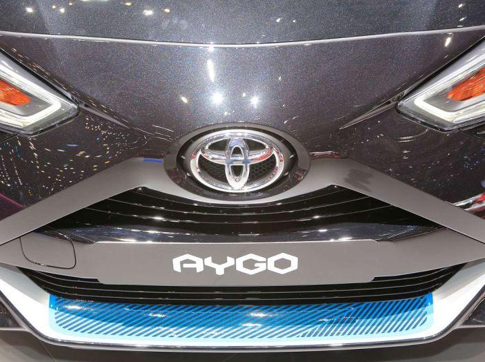 Nuova Toyota Aygo 2018, passi avanti in stile e tecnologia - Foto 18 di 18