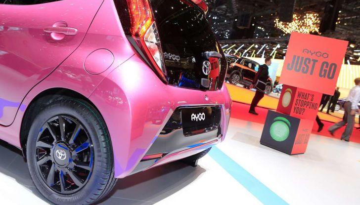 Nuova Toyota Aygo 2018, passi avanti in stile e tecnologia - Foto 3 di 18