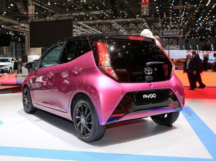 Nuova Toyota Aygo 2018, passi avanti in stile e tecnologia - Foto 4 di 18